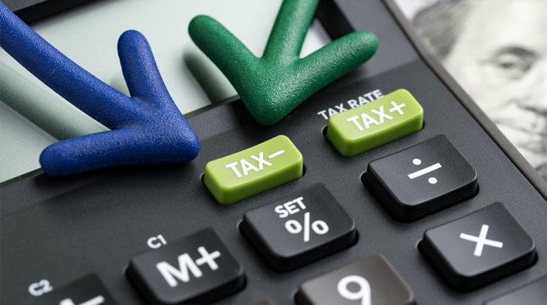 Ridurre le tasse